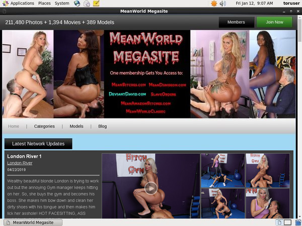 Mean World MegaSite Ad