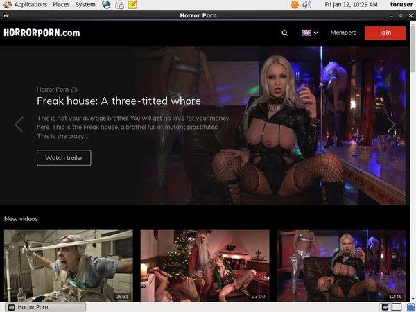 Porn Pass Horror Porn