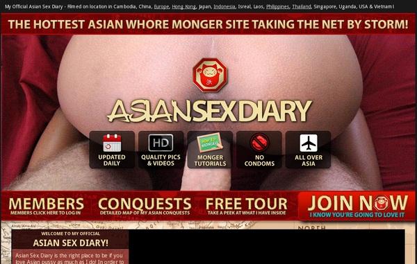 Contas Premium Asian Sex Diary